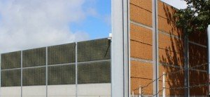 KokoWall Lärmschutzwand HA Minwol Industrie