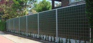 KokoWall Lärmschutzwand Lite Garten Kokosseiten