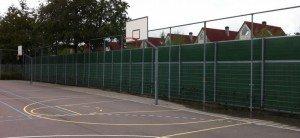 KokoWall Lärmschutzwand Lite Spiel- und Sportplatz