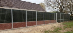 Noise Reducer Lärmschutzwand SA Private Garten
