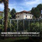 Noise Reducer Lärmschutzwand und Gartenzaun