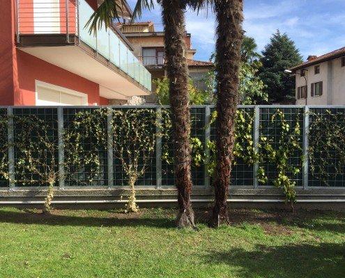 NoiseReducer Schallschutzwand Sichtschutz im Garten