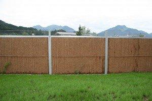 Sichtschutz Gartenzaun und Lärmschutzwand