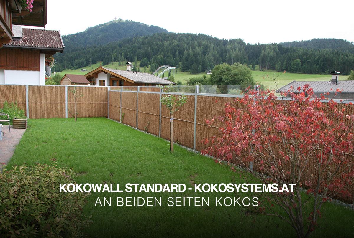 Erstaunlich Sichtschutzzaun und Lärmschutzwand | Kokowall.at UX05