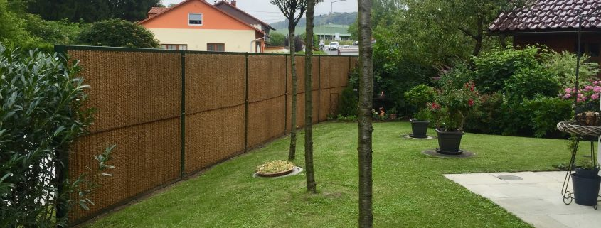 Lärmschutz im Garten