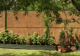 Lärmschutzwand KokoWall-Pro im Garten