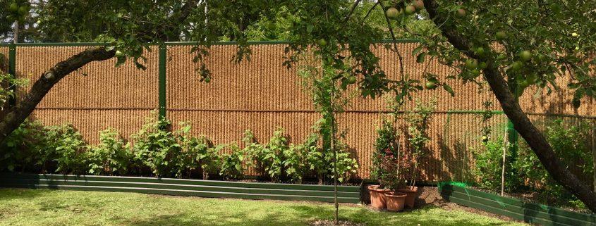 Lärmschutzwand Garten