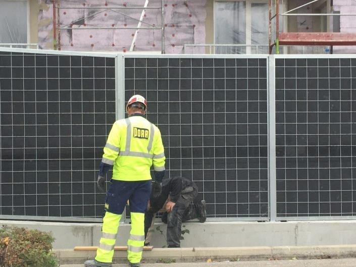 Lärmschutzwand KokoWall-HA Strassenseite