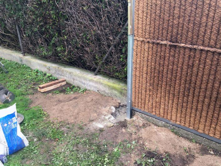 Lärmschutzwand KokoWall-Lite Einbetoniert