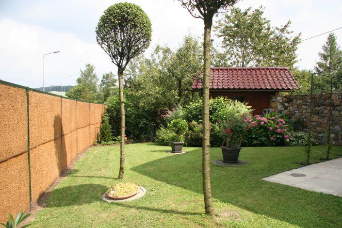 Schallschutzwand KokoWall-Pro im Garten