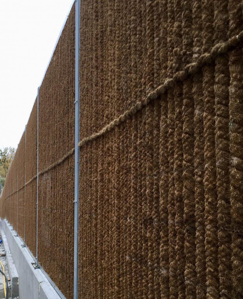 Lärmschutzwand KokoWall-HA Gartenseite