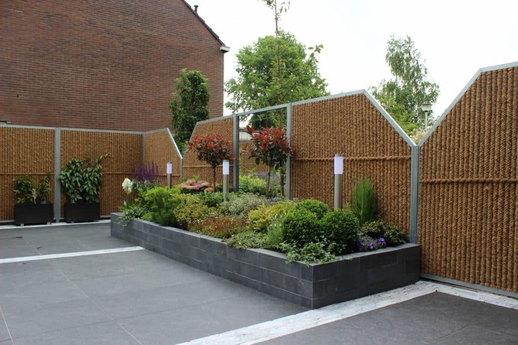 Sichtschutzwand Gartenwand Gartenzaun